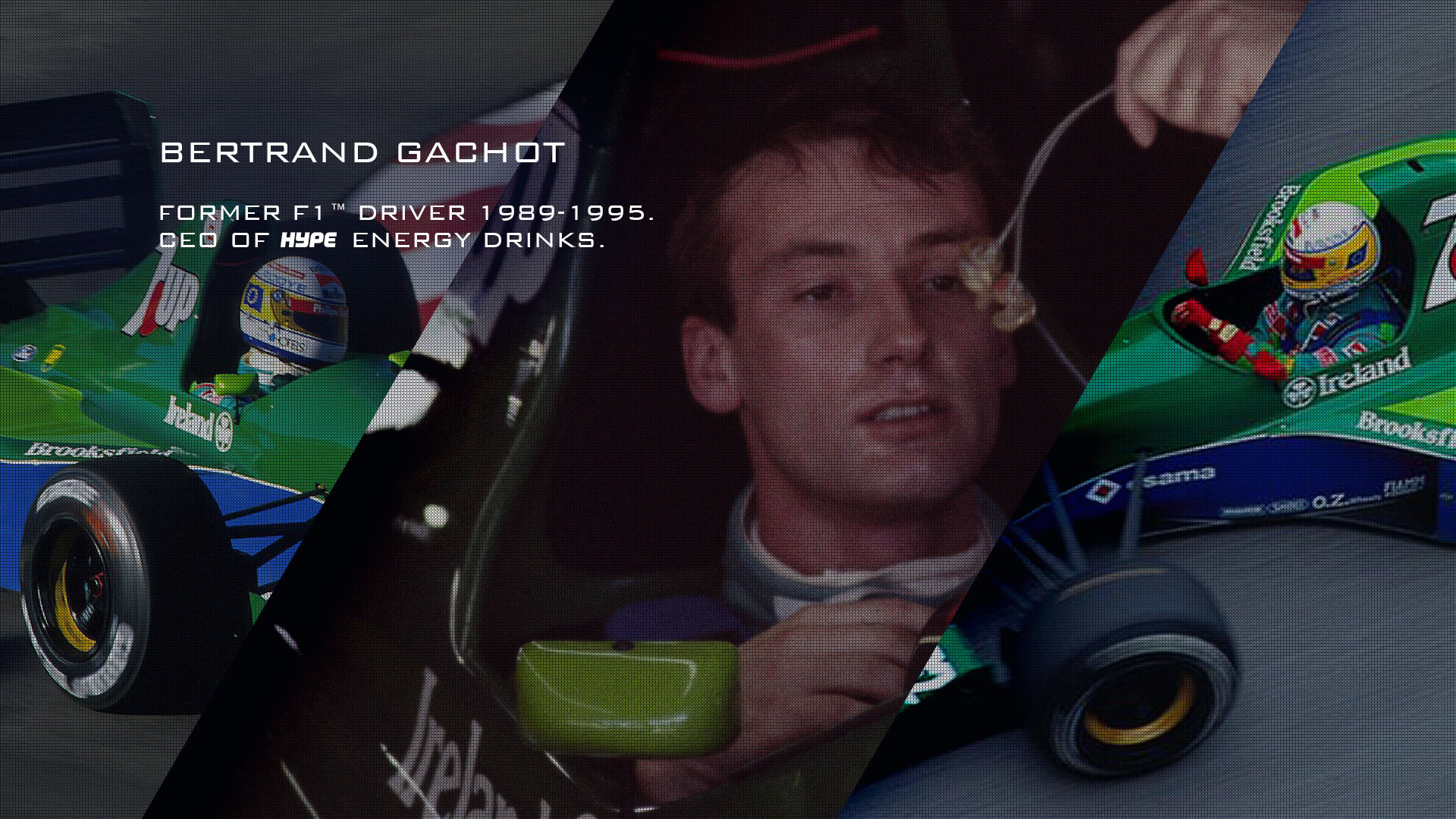Bertrand Gachot - Former F1 driver - now CEO of Hype Energy Drinks
