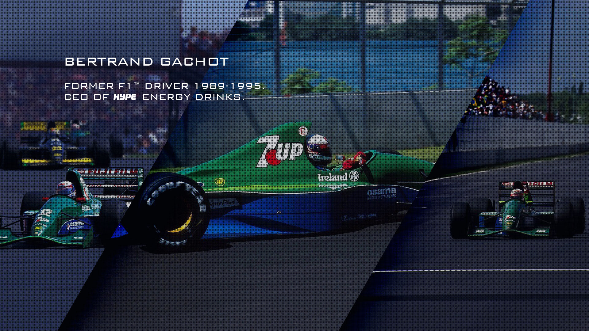 Bertrand Gachot - CEO of Hype Energy Drinks - Former F1 (TM)  driver 1989-1995
