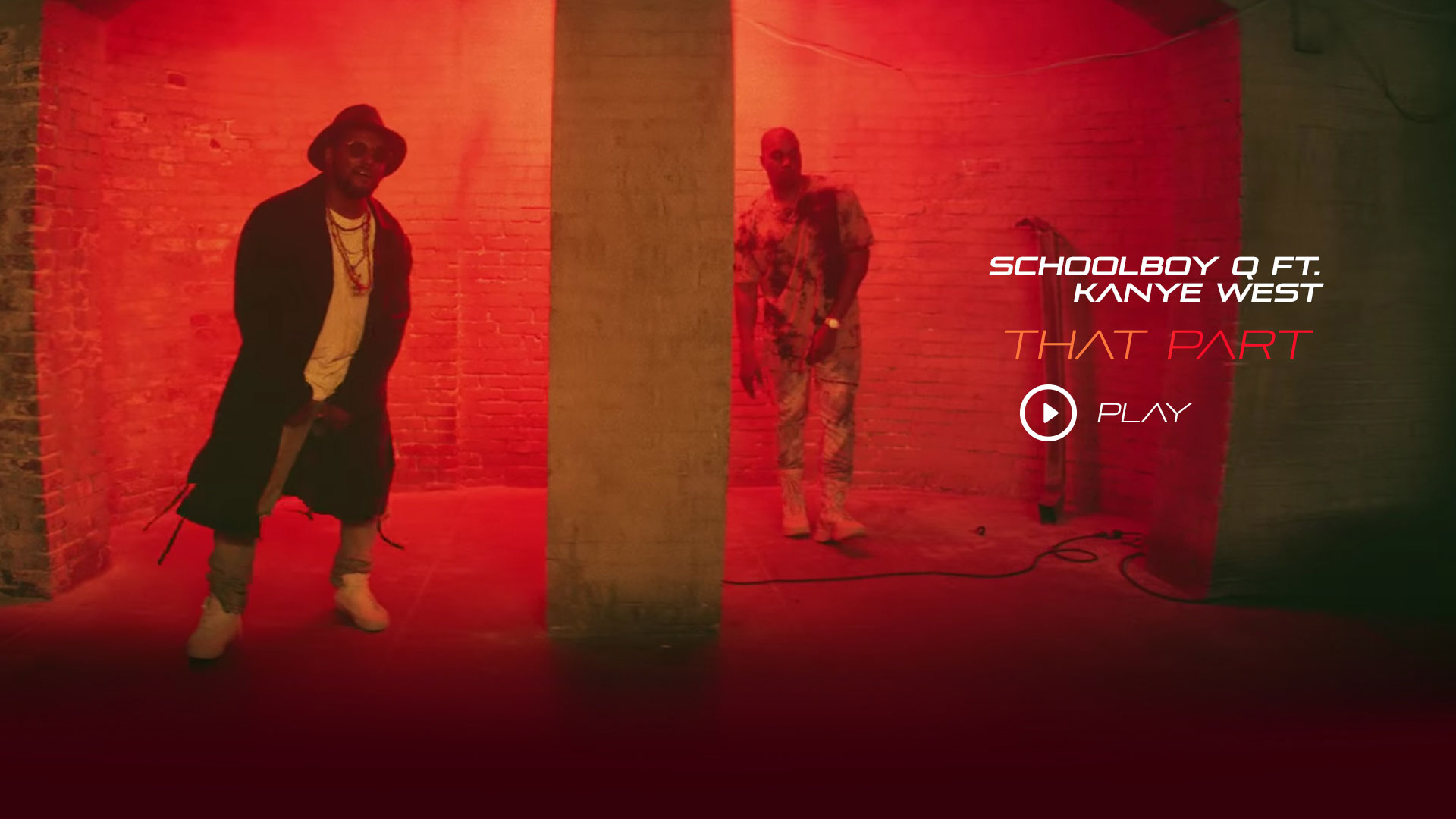 ScHool Boy Q ft Kanye West - THat Part