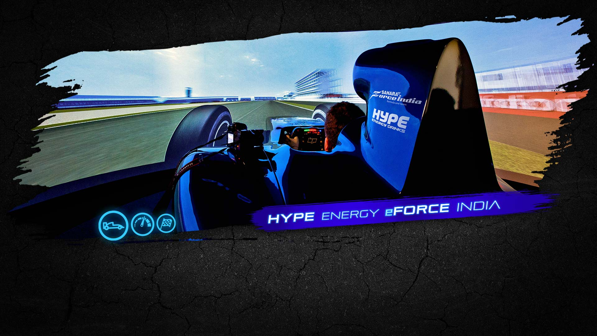 Hype Energy eForce India Banner