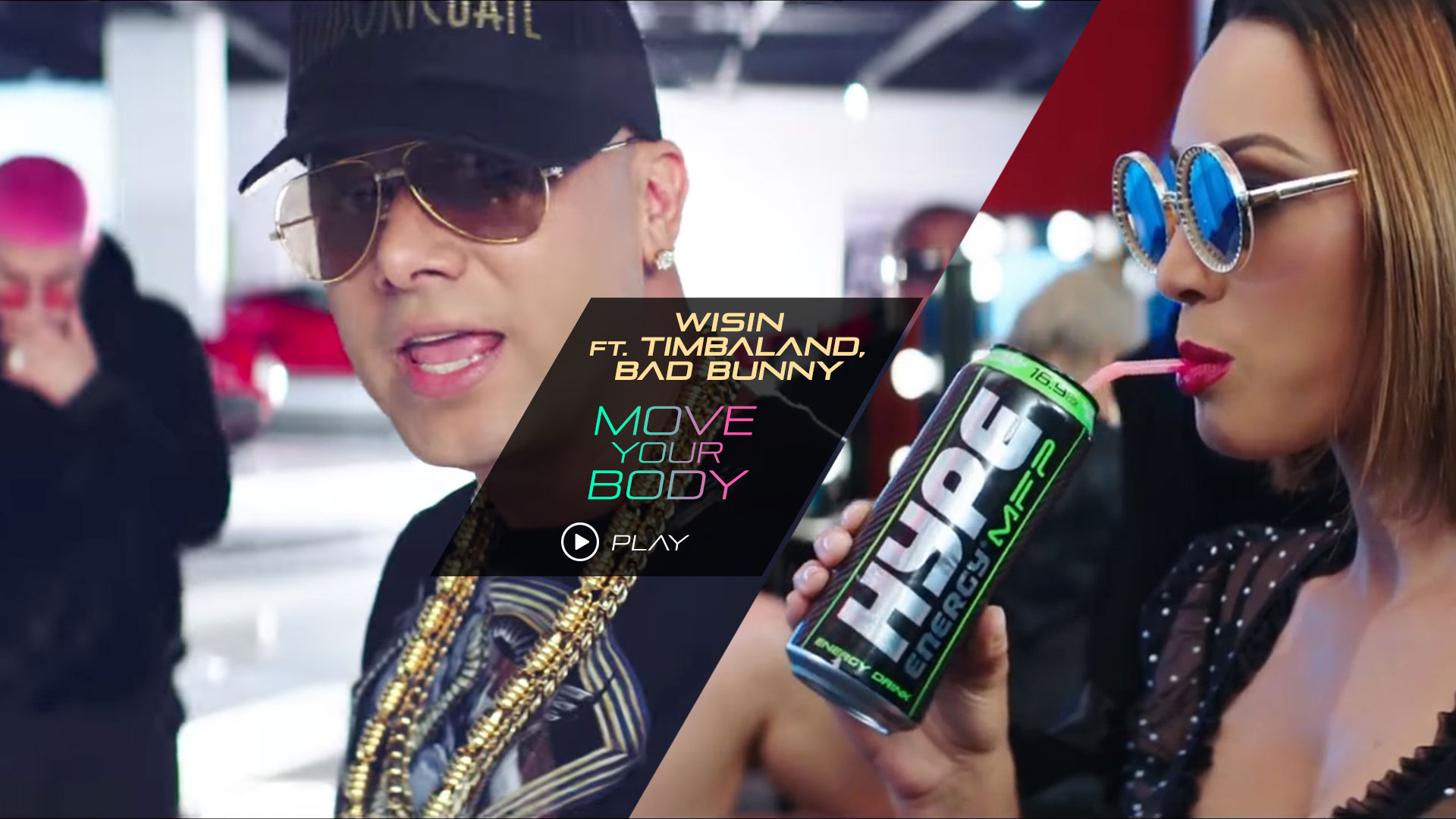 Wisin Hype Energy Move Your Body