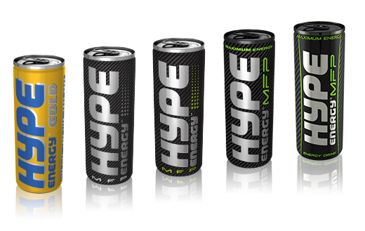 Hype Energy Drinks