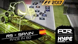 RACE IN 60 | R5 - Spain | AOR Hype Energy F1 Leagues