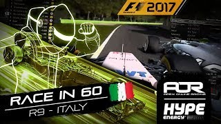 RACE IN 60 | R9 - Italy | AOR Hype Energy F1 Leagues
