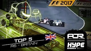 TOP 5 MOMENTS | R6 - Great Britain | AOR Hype Energy F1 Leagues