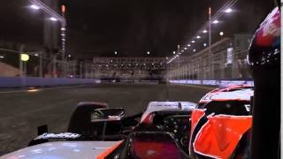 F1 2015 video game - Hype Energy on board of the Sahara Force India F1 car