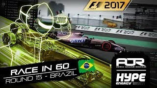 RACE IN 60 | R15 - BRAZIL | AOR Hype Energy F1 Leagues