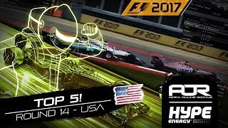 TOP 5 MOMENTS | R14 - USA | AOR Hype Energy F1 Leagues
