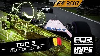 TOP 5 MOMENTS | R8 - Belgium | AOR Hype Energy F1 Leagues