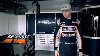 Exclusive Video of Nico Hulkenberg at Silverstone Training Day