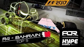 TOP 5 MOMENTS | R4 - Bahrain | AOR Hype Energy F1 Leagues