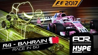 RACE IN 60 | R4 - Bahrain | AOR Hype Energy F1 Leagues