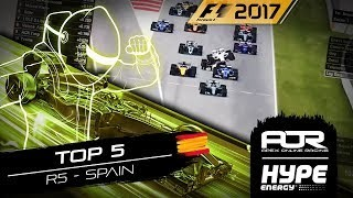 TOP 5 MOMENTS | R5 - Spain | AOR Hype Energy F1 Leagues