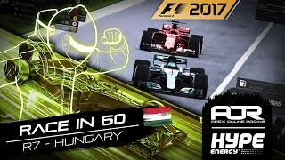 RACE IN 60 | R7 - Hungary | AOR Hype Energy F1 Leagues
