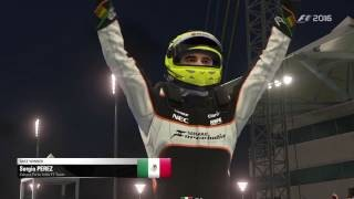 Sergio Pérez Wins the Abu Dhabi GP in Record Time