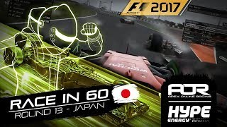 RACE IN 60 | R13 - Japan | AOR Hype Energy F1 Leagues