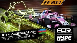 TOP 5 MOMENTS | R3 - Azerbaijan | AOR Hype Energy F1 Leagues