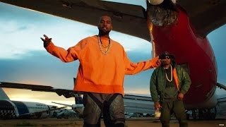 Behind The Scenes clip of French Montana's newest video 'Figure It Out', ft. Kanye West & Nas