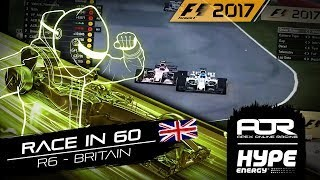 RACE IN 60 | R6 - Britain | AOR Hype Energy F1 Leagues