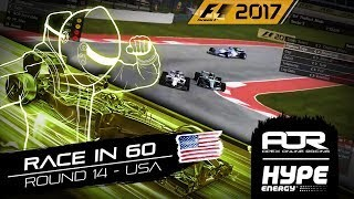 RACE IN 60 | R14 - USA | AOR Hype Energy F1 Leagues