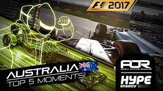 TOP 5 MOMENTS | R1 - Australia | AOR Hype Energy F1 Leagues