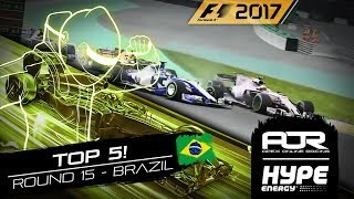 TOP 5 MOMENTS | R15 - BRAZIL | AOR Hype Energy F1 Leagues