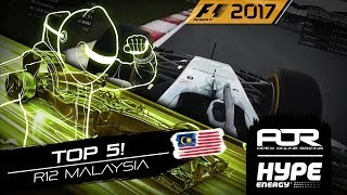 TOP 5 MOMENTS! | R12 - Malaysia | AOR Hype Energy F1 Leagues