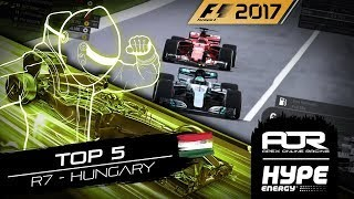 TOP 5 MOMENTS | R7 - Hungary | AOR Hype Energy F1 Leagues